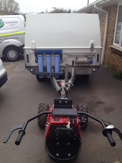 MUV Trailer Mover con 2,000Kg doble remolque de eje