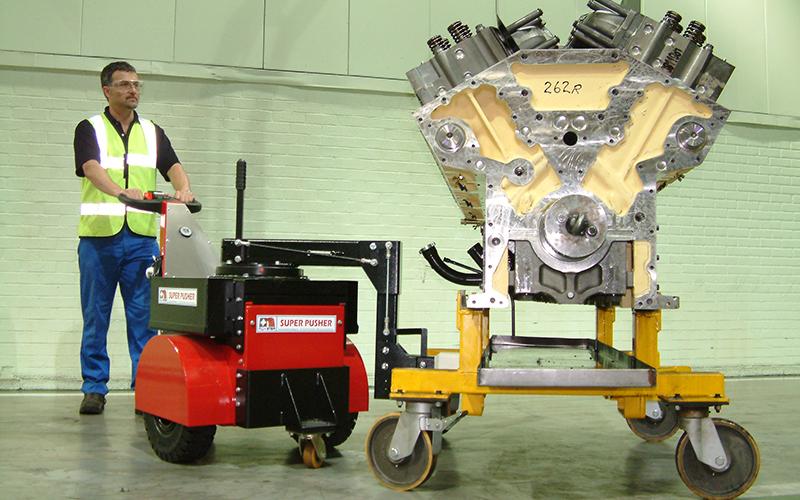 Super Power Pusher, con dirección del brazo, el motor diesel Cummins 7,000Kg movimiento
